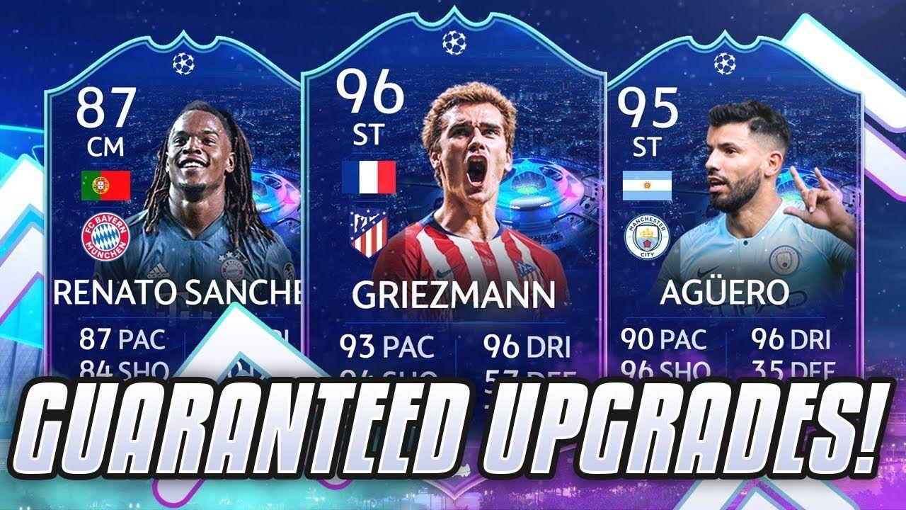 Ucl Live Cards Guaranteed Upgrades Fifa 19 Champions League Live Fifa Cards