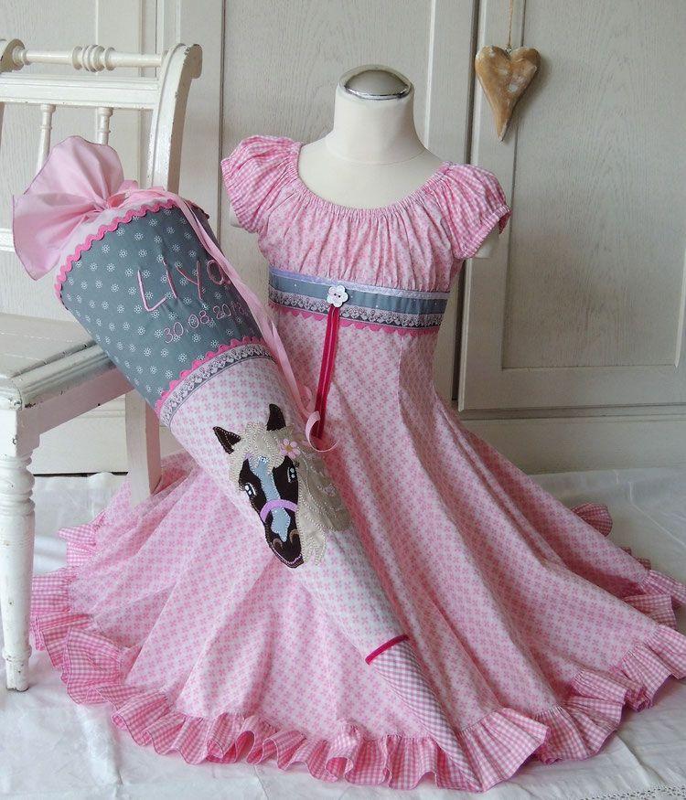 Photo of ELODIE Einschulungskleid rosa