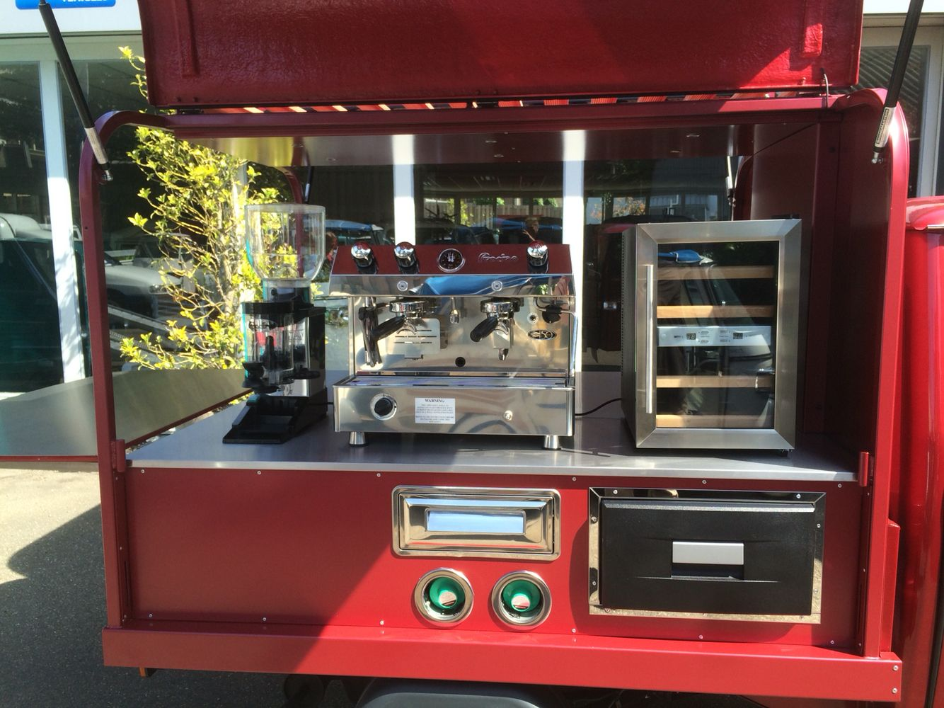 Ape classic400 coffee coffee shop food truck coffee carts