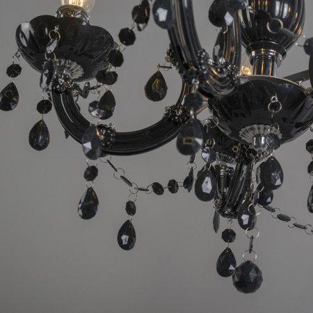 l mpara colgante marie theresa 5 negra cl sico pero actual On lampara de estilo elegante lamentable