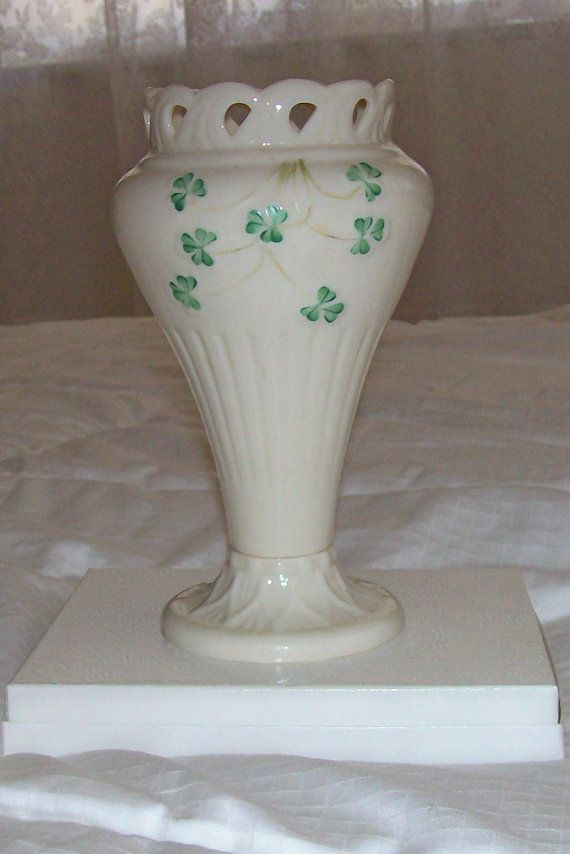 Vintage Belleek China  Pierced or Lattice by GiftsFromFlutters