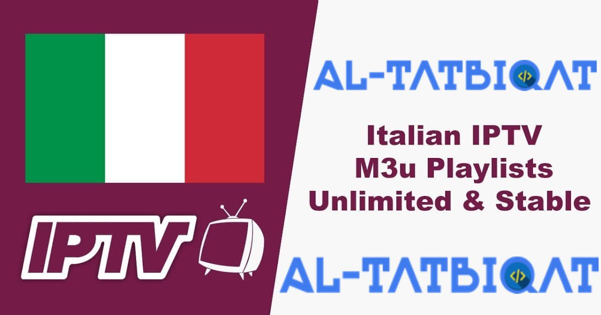 Free Iptv Italy Premium 2020 Working Today Welcom Toal Tatbiqatsite Today We Talk About Free Iptv Italy Premium 2020 Working Today He Work Today Italy Today