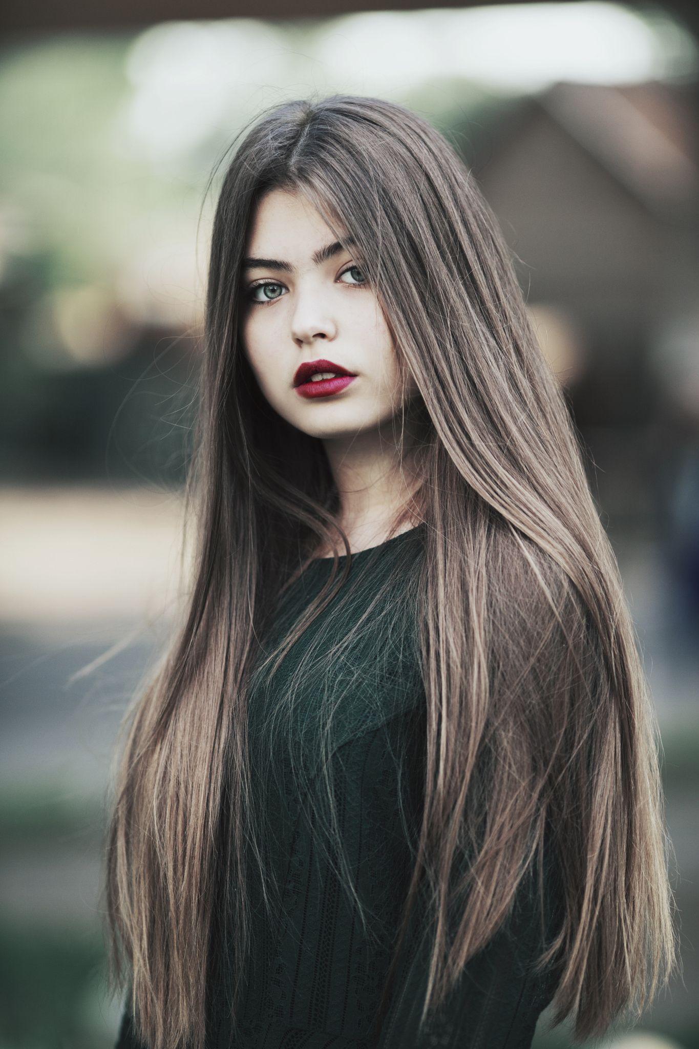 Girl Beauty Beauty Girl Beautiful Long Hair Portrait Girl