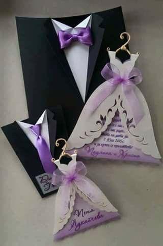 Invitación lila