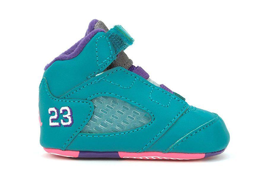 07b7f9e2e7c6f Amazon.com | Jordan 5 Retro (GP) Crib Sneakers (552494 307), 2 ...