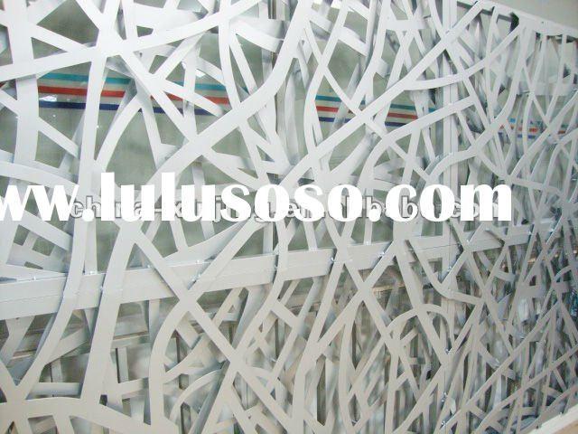 Decorative perforated metal wall panel/artistic aluminum screen ...