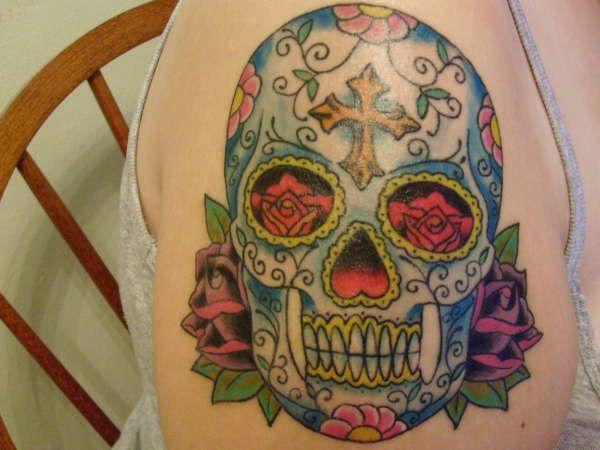 Google Image Result for http://www.ratemyink.com/images/ul/119/Sugar-Skull-tattoo-119860.jpeg