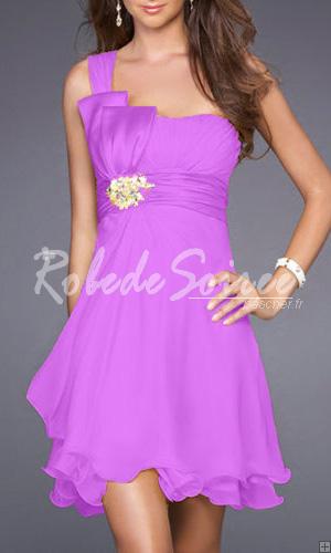 Robes de soiree violette pas cher