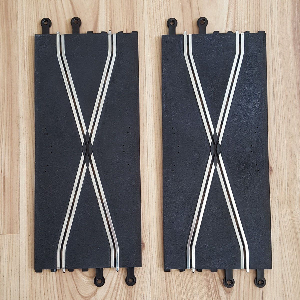 Scalextric 1:32 Classic Track C182 PT82 Plain Cross Over x 3  #A