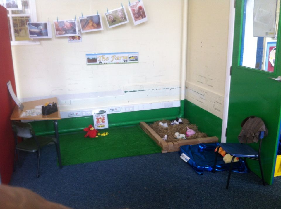 Farm role play area