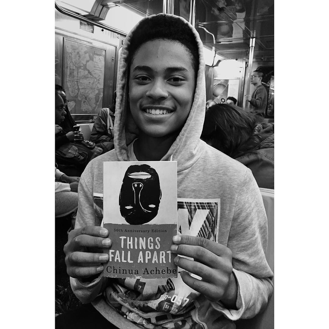 """Things Fall Apart Author: Subway Book Review From NYC: Roberto: """"Achebe Is One Of"""