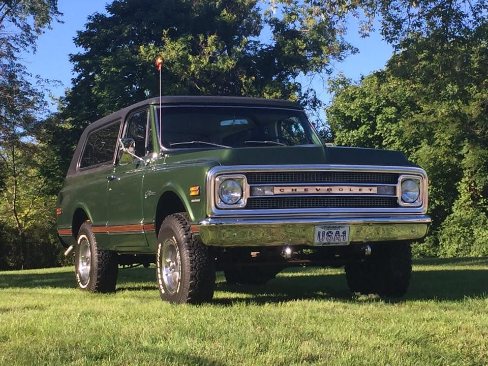 71 K5 Blazer Legendary Legacy Classic Chevy Trucks K5 Blazer Gmc Trucks