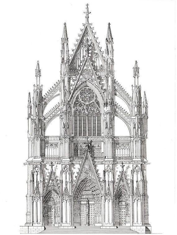 Das portal k ln kathedrale norddeutschland k ln - Architektur gotik ...