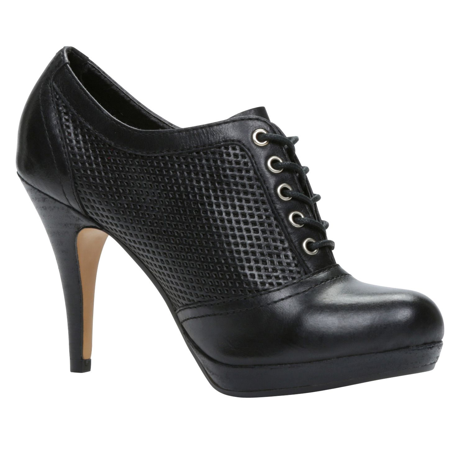 ALDO black high heels.