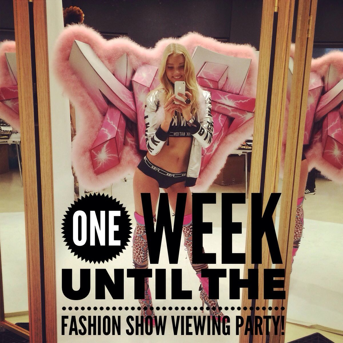 The Fashion Show Viewing Party is only one week away! RSVP