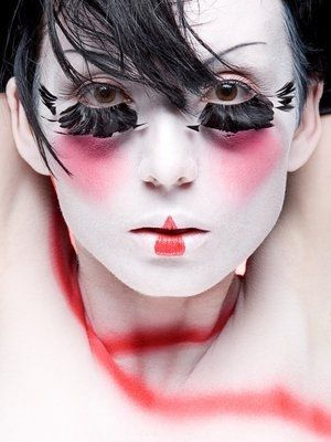 samantha lennon blog of makeup beauty geisha makeup halloween