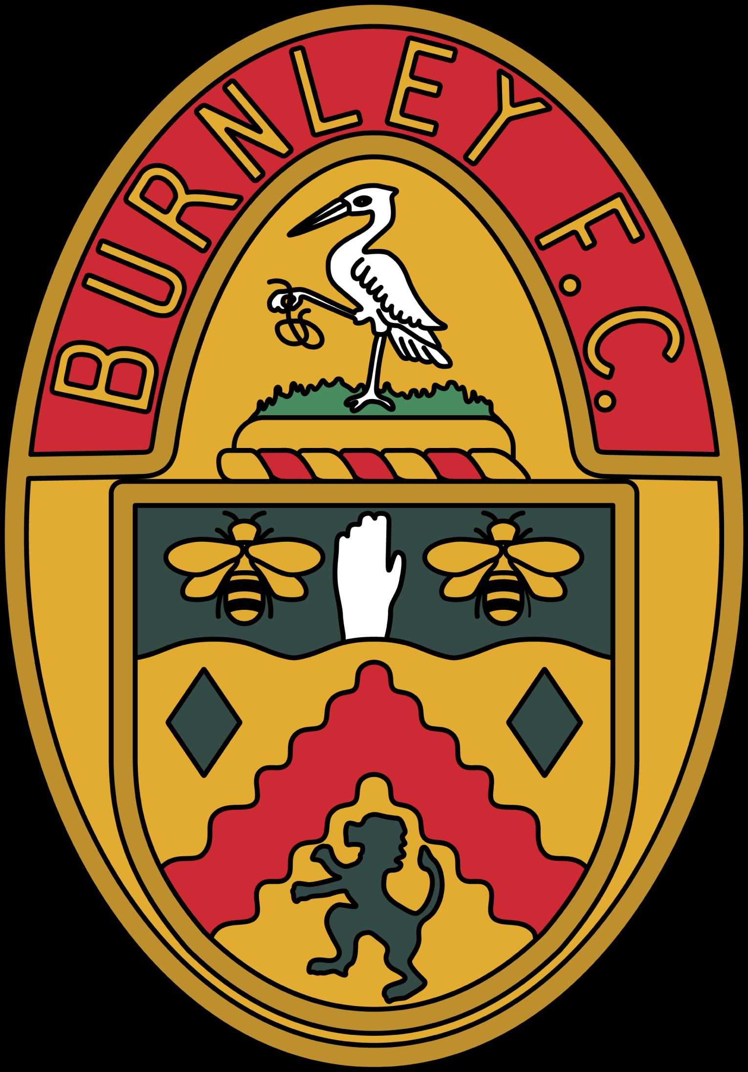 Burnley Football Logo Burnley Sports Logo [ 2192 x 1530 Pixel ]