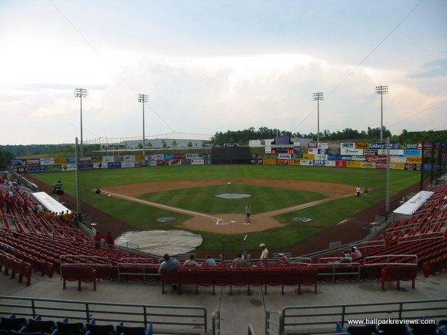 L P Frans Stadium Hickory North Carolina North Carolina Stadium Minor League Baseball