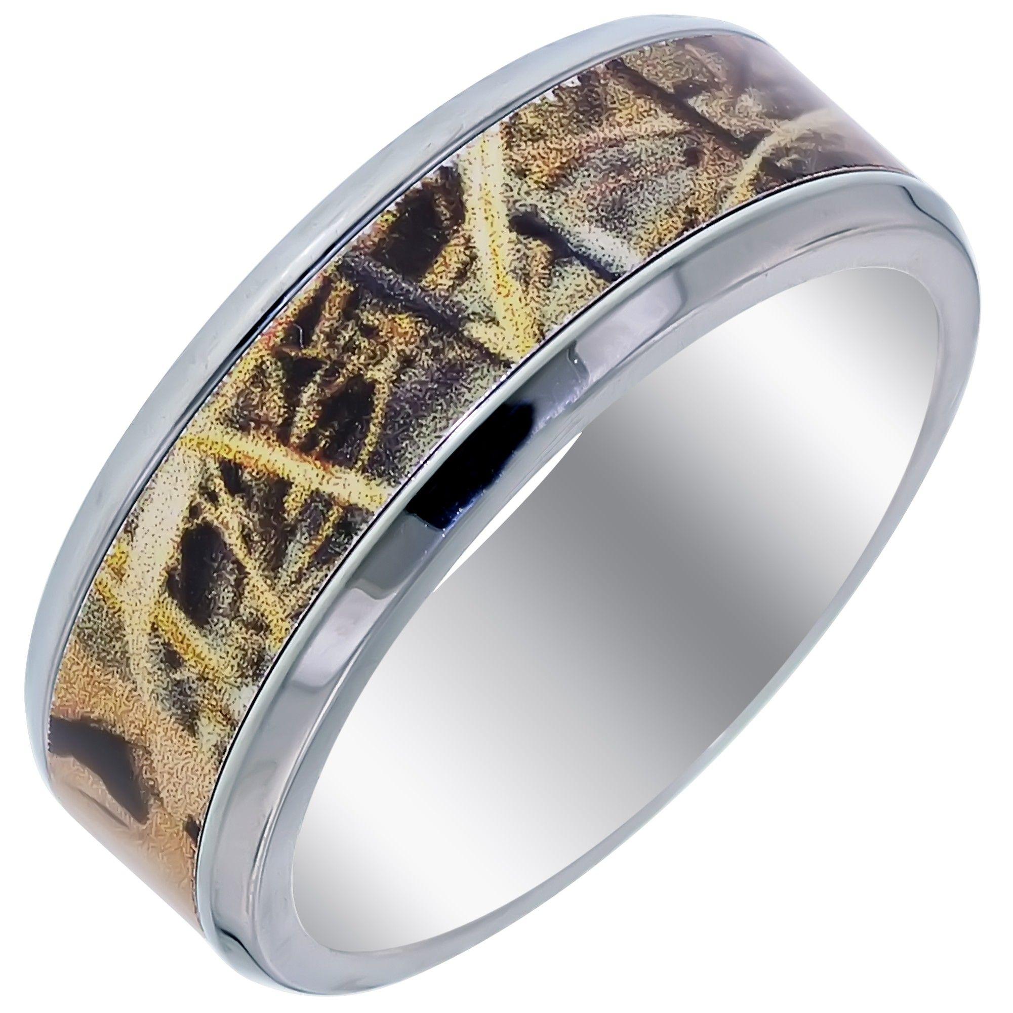 mens camo wedding bands - Mens Camo Wedding Ring