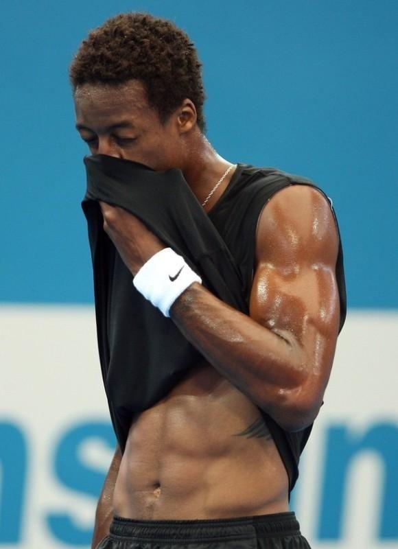 Gael Monfils That Tennis Body Gael Monfils Mens Crop Top Tennis Players