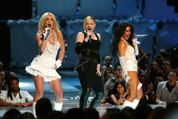 Britney and Christina Aren't Going for Another Madonna Reunion