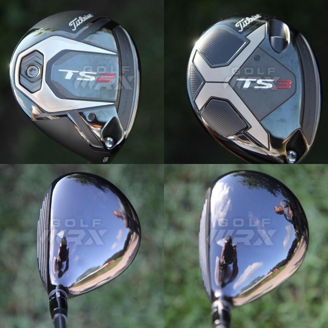 Spotted: New @titleist TS2 and TS3 fairway woods (Link in
