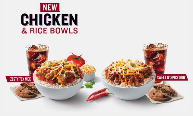 New Kfc Chicken Rice Bowls Whats On The Menu In 2019 Kfc