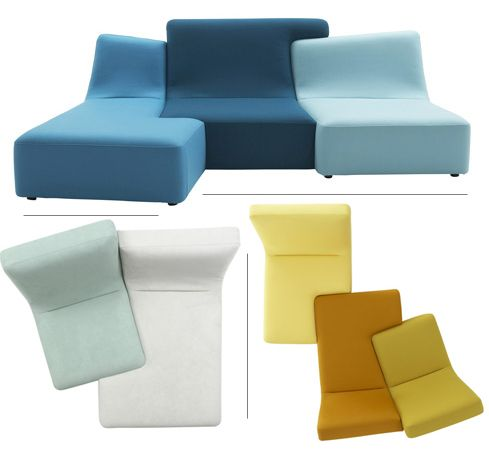 Swell Confluences Sofa Colorful Non Symmetrical Pieces Can Be Pabps2019 Chair Design Images Pabps2019Com