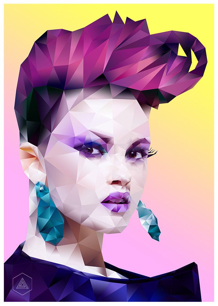 Create a polygonal portrait in adobe photoshop with illustrator create a polygonal portrait in adobe photoshop with illustrator httpyoutu illustrator tutorialsadobe illustratorcreative baditri Choice Image