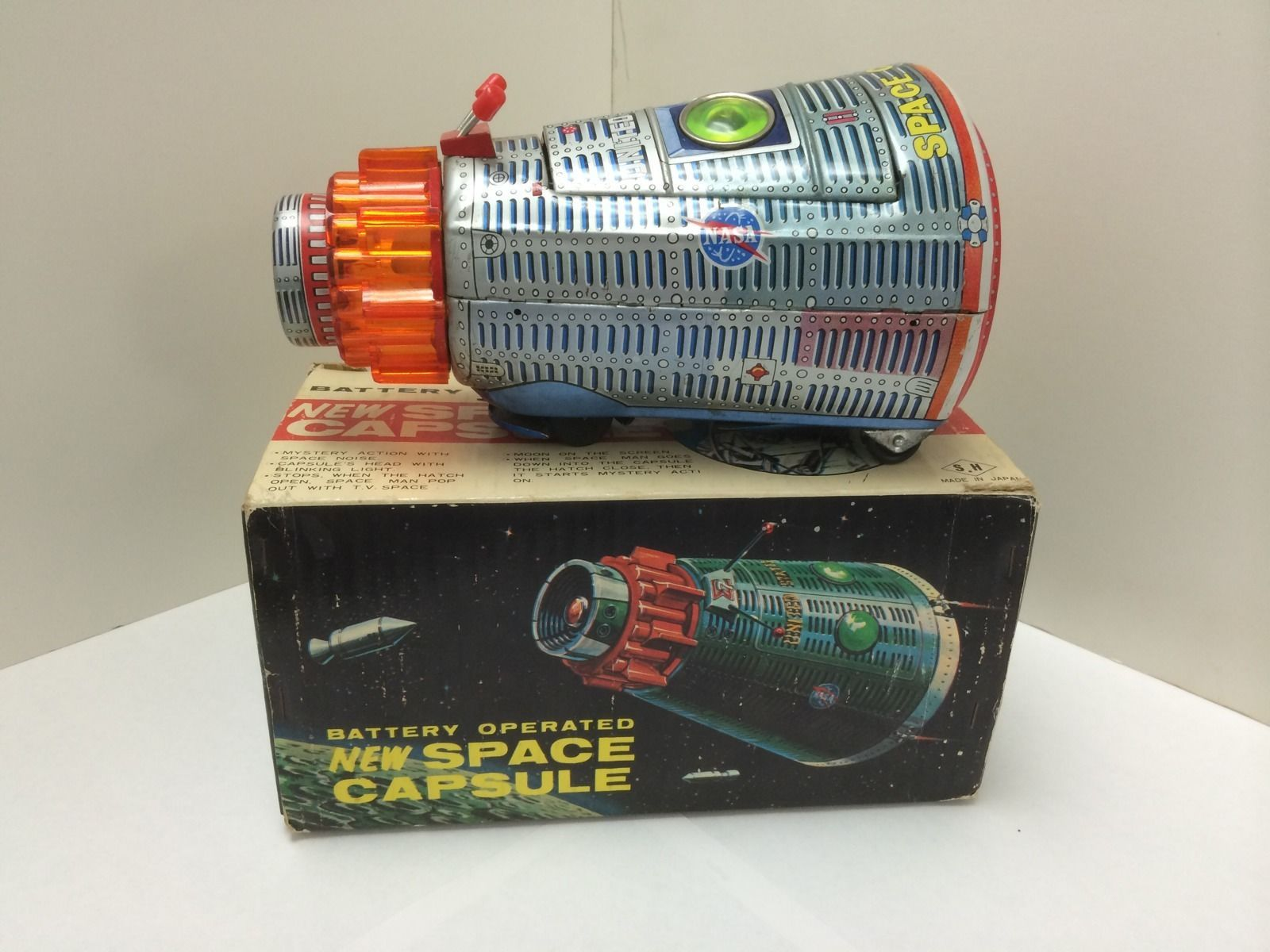 Apollo 12 vintage space capsule toy 5115 opinion you