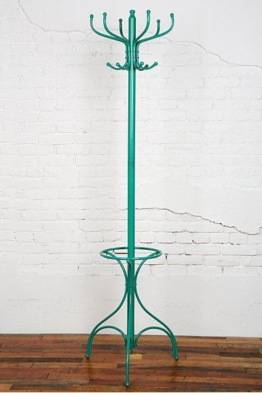 Scavenger Modern Coat Rack Hat Stand From Urban Outfitters Turquoise For 34 Vintage Coat Rack Home Decor