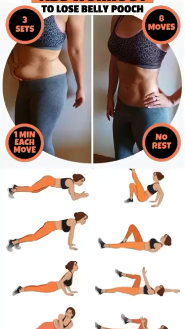 Best 7 Exercises to Reduce Hanging Belly Fat