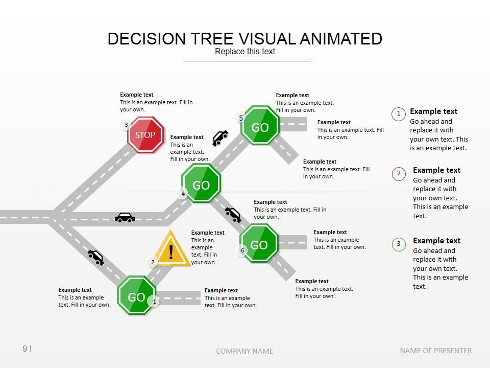 Tree Diagram Slide Design To Help You Present Causes And Effects