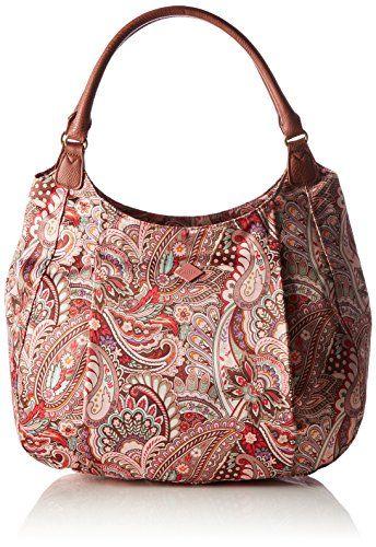 a5b210c500480 Oilily Womens Oilily Hobo Top-Handle Bag Pink Pink (VINTAGE PINK 329) Oilily  Eau de Fleurs Hobo Bag Vintage Pinkandlt