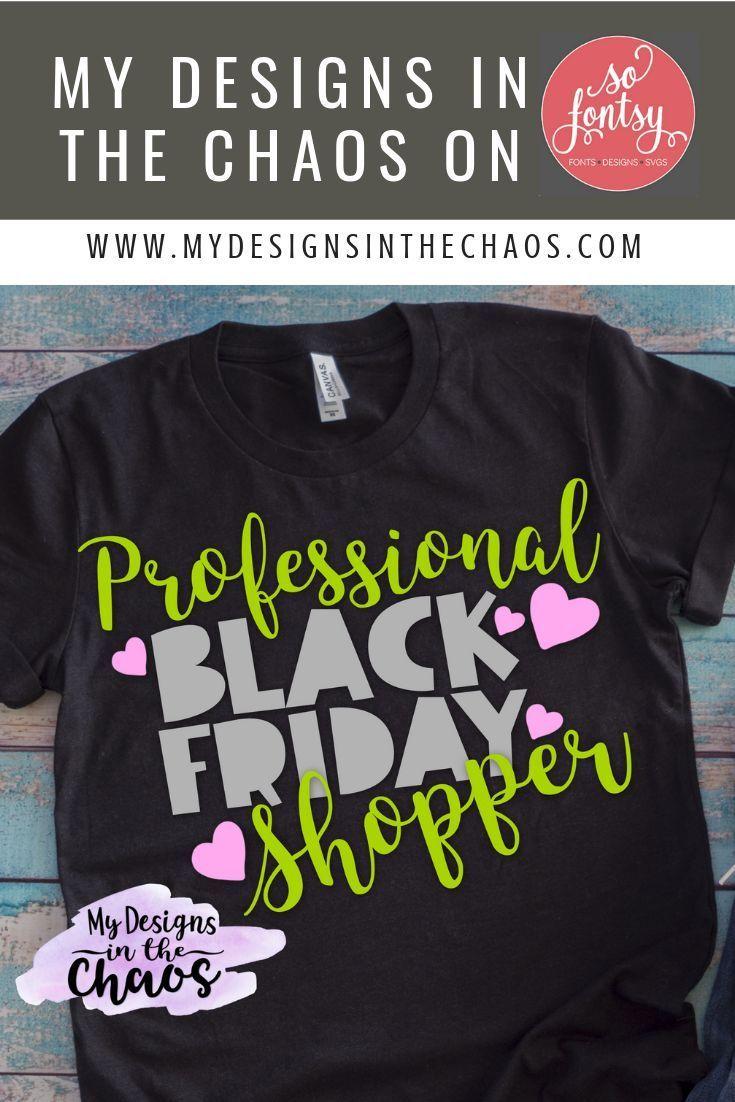 Black Friday Shopper SVG Design | Holiday Clip File – #Black #blackfriday …