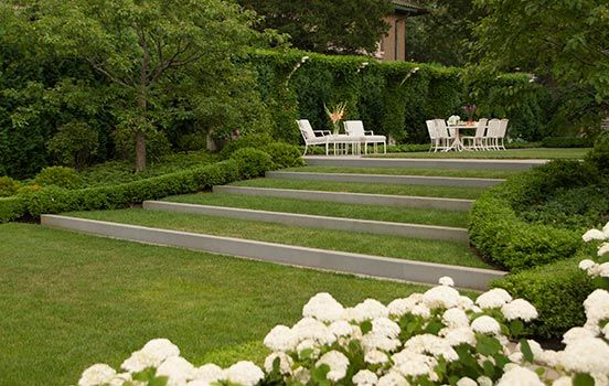 Family Garden Hoerr Schaudt Landscape Architects Country