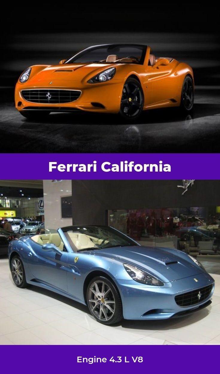 The Ferrari California ACCELERATION 0-60mph in 3.6sec # ...