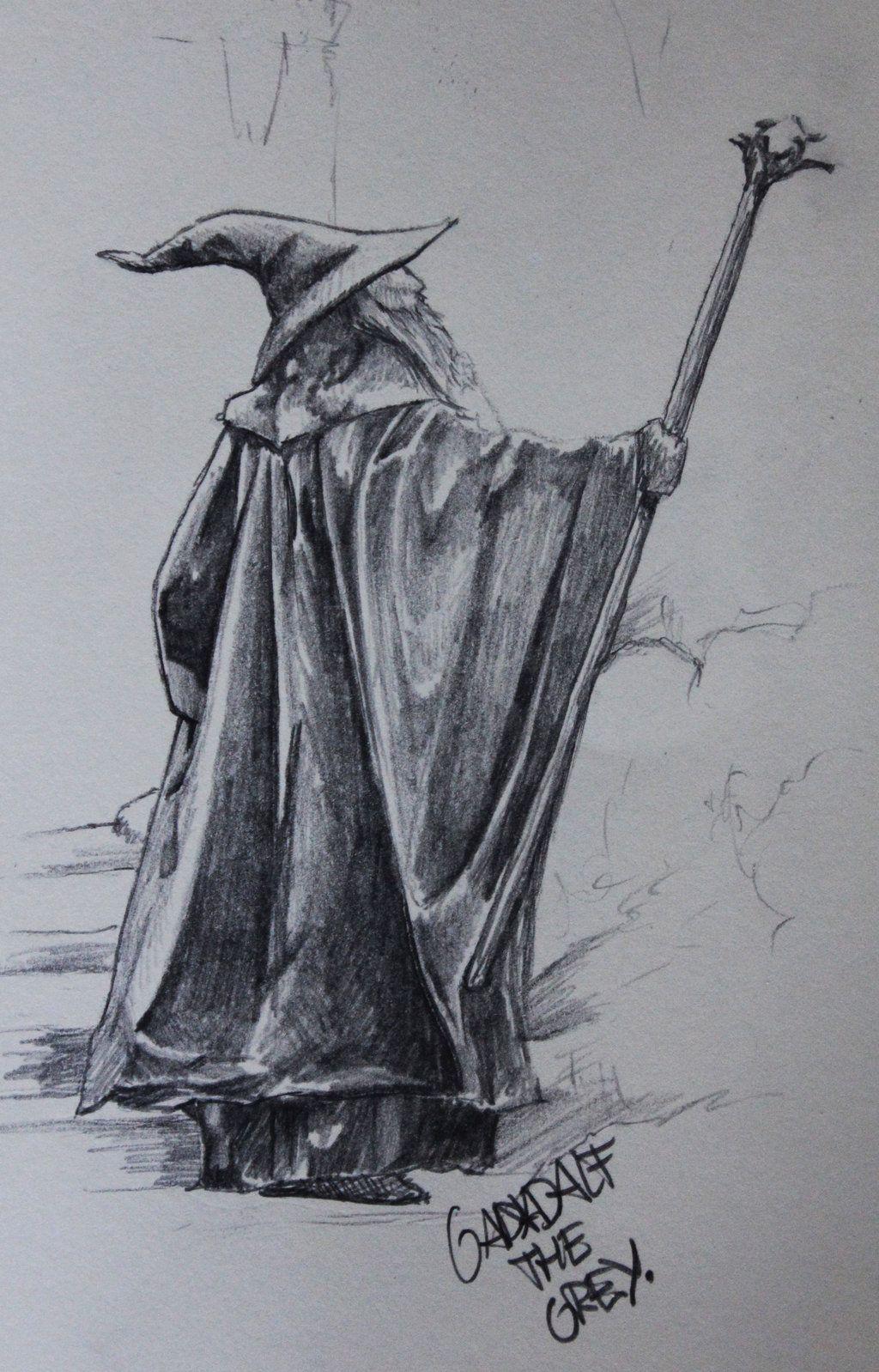Gandalf the Grey by AdamMidd.deviantart.com