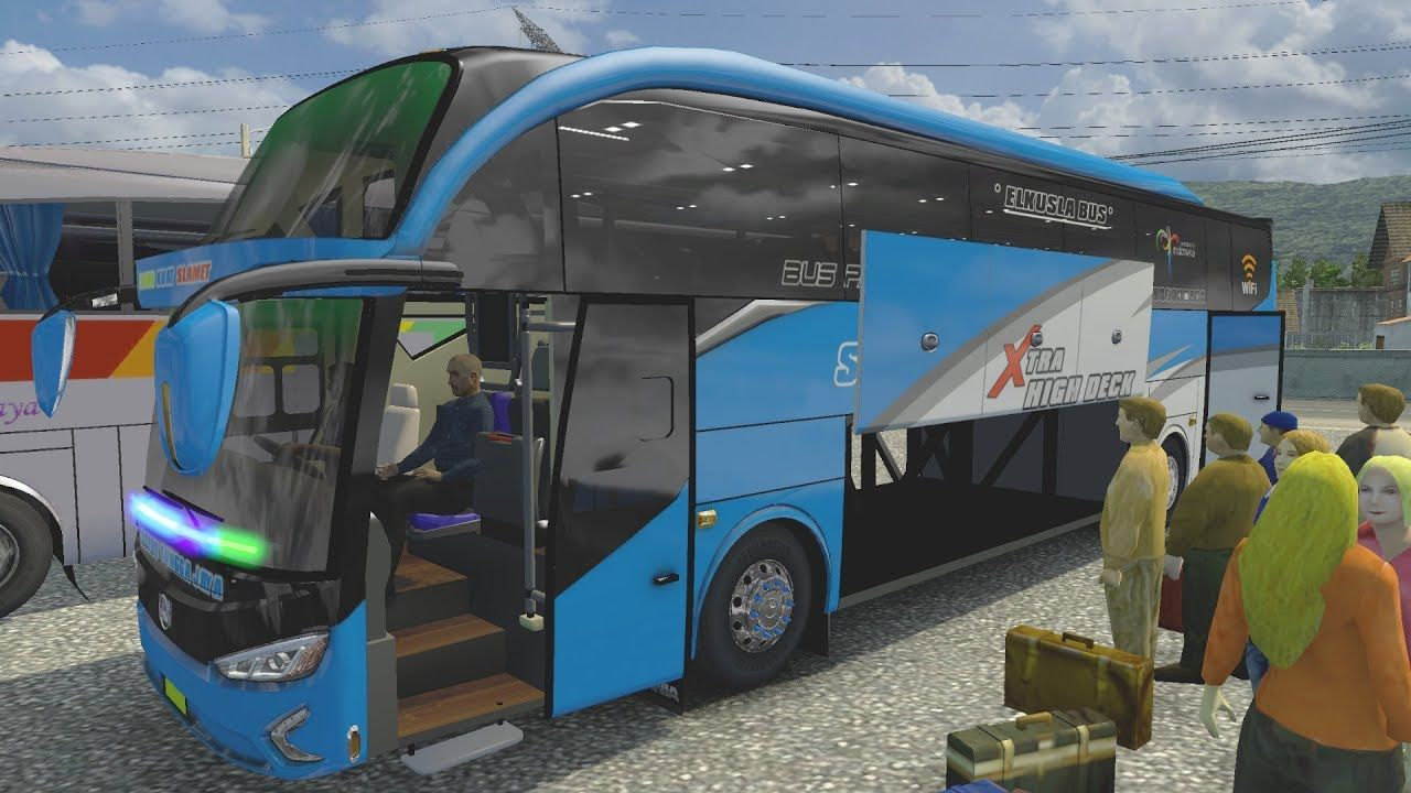 New Stj Evolander Ets2 Bus Mod Indonesia Shd M Husni Edit