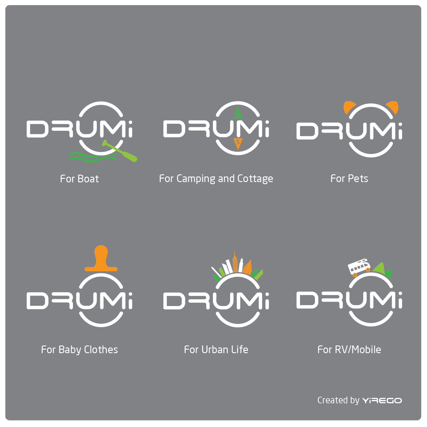 Check out Drumi's new logo - perfect for everyone!