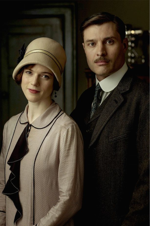 """""""Downton Abbey"""" (season 6) - This is Rose Leslie as Gwen ..."""
