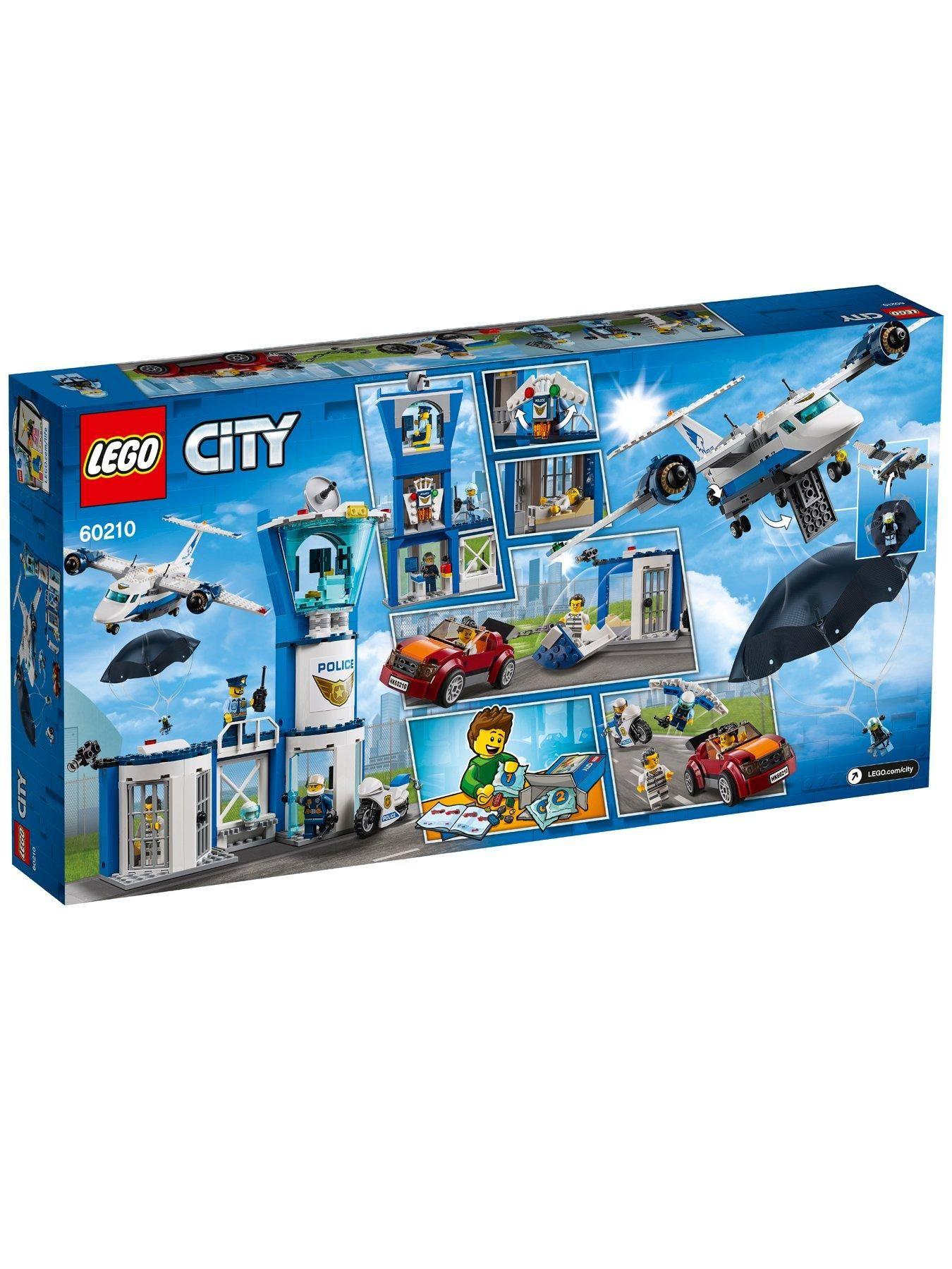 60210 Sky Police Air Base In 2020 Lego City Police Lego City Lego