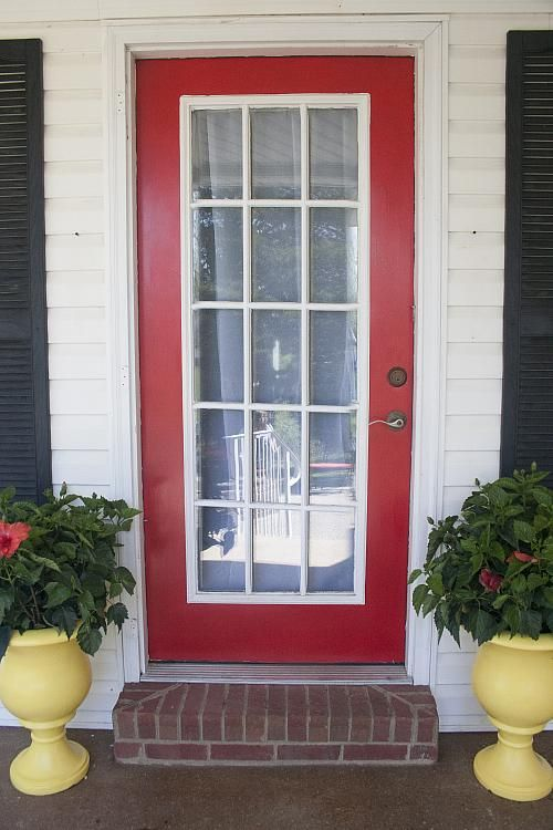 Create This Project With Americana Decor Curb Appeal Add A Bold