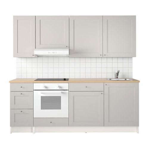 Knoxhult Kuche Grau Dachausbau Pinterest Kitchen Ikea