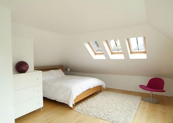 find this pin and more on attic design - Ideas For Attic Bedrooms
