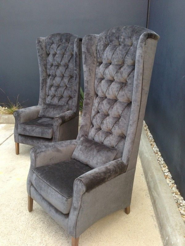 Buy Online Gentlemans High Back Feature Wing Chair Or Dining