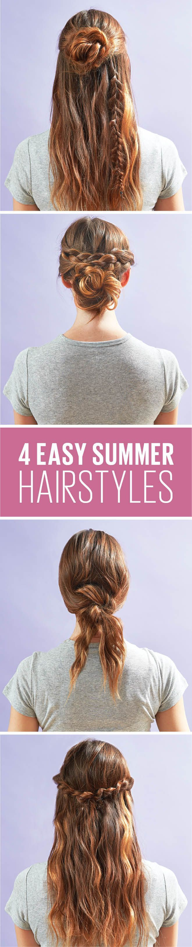 Upgrade your basic pony with these no-fuss looks that will keep you cool without...,   Summer Hairstyles, Upgrade your basic pony with these no-fuss looks that will keep you cool without breaking a sweat. Source by omnikizzy...