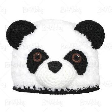 Bonnet Panda - 13 tailles du bébé à l adulte - crochet - Modèles de crochet  chez Makerist aba240ceb05