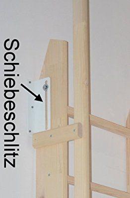 Raumspartreppe Bodentreppe Hochbettleiter Einhängeleiter Amelie / felxiblo