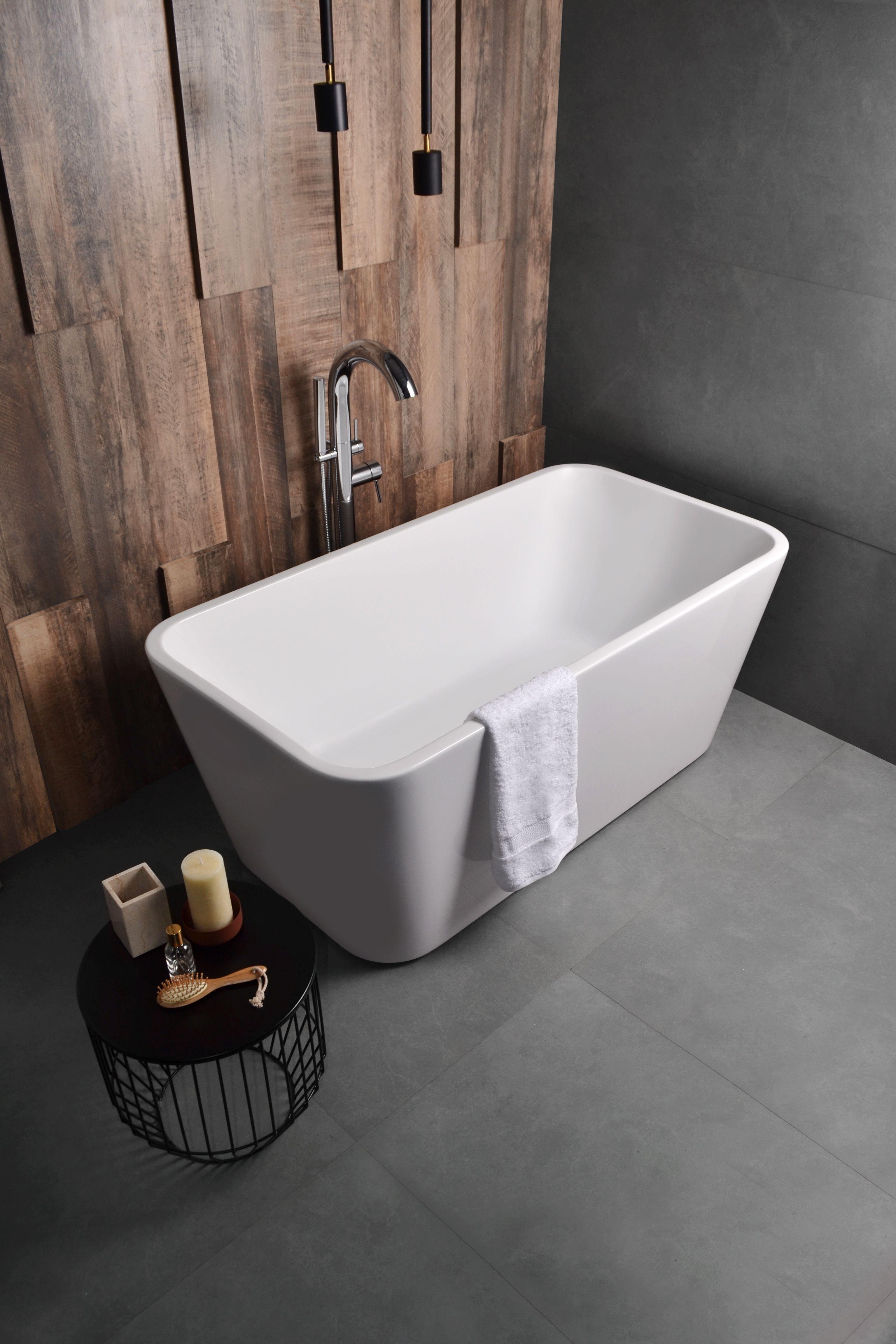 Bañera isla Khios radial - La bañera de acrílico Ferrum ...